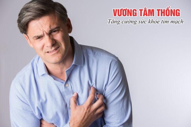 Đau thắt ngực - triệu chứng bệnh mạch vành điển hình